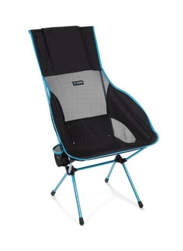 Helinox Savanna Chair Outdoor Kamp Sandalyesi Black Siyah